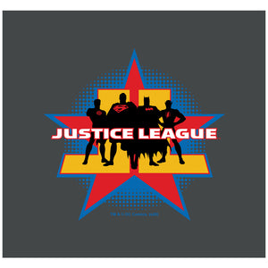 Justice League Stand Tall Adult Mask Design Full View