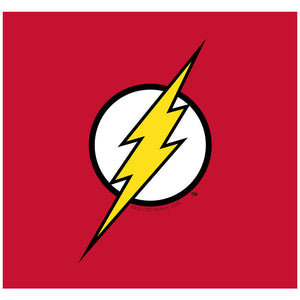 Load image into Gallery viewer, The Flash Lightning Bolt Logo Adult Mask Design Full View