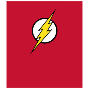 Load image into Gallery viewer, The Flash Lightning Bolt Logo Kids Mask Design Full View