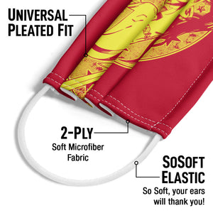Wonder Woman Young Wonder Adult Universal Pleated Fit, 2-Ply, SoSoft Elastic Earloops