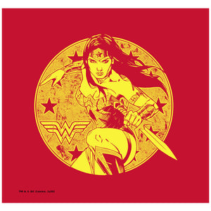 Wonder Woman Young Wonder Adult Mask Design Full View