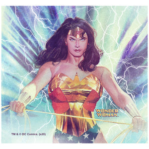 Wonder Woman Alex Ross Stormy Adult Mask Design Full View