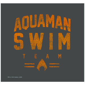 Load image into Gallery viewer, Aquaman Swim Team Adult Mask Design Full View