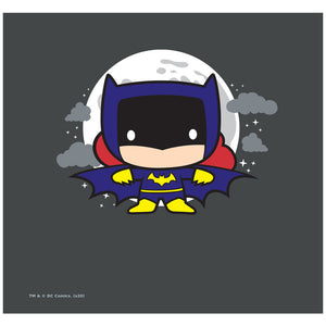 Load image into Gallery viewer, Batgirl Chibi Adult Mask Design Full View