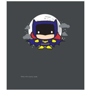 Load image into Gallery viewer, Batgirl Chibi Kids Mask Design Full View