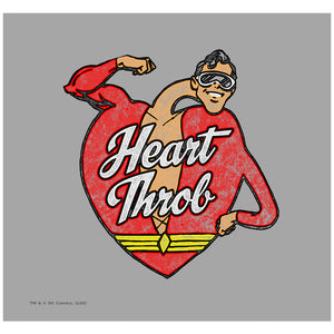 Justice League Plastic Man Heart Throb Adult Mask Design Full View