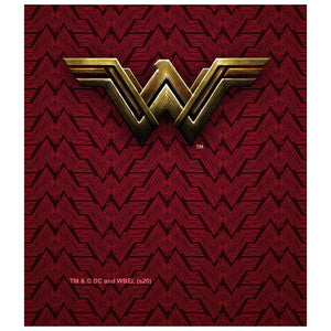 Justice League Movie Wonder Woman Logo Kids Mask Design Full View
