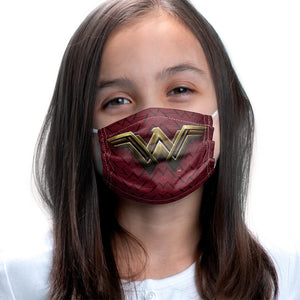 Load image into Gallery viewer, Justice League Movie Wonder Woman Logo Kids Main Model View