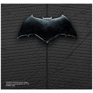Load image into Gallery viewer, Justice League Movie Batman Chest Logo Adult Mask Design Full View
