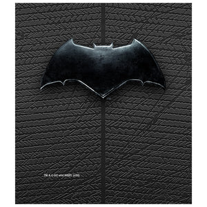 Load image into Gallery viewer, Justice League Movie Batman Chest Logo Kids Mask Design Full View