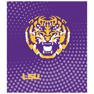 Load image into Gallery viewer, LSU Tiger Face Kids Mask Design Full View