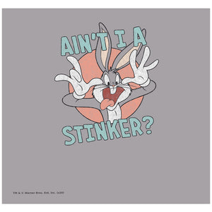 Looney Tunes Ain't I a Stinker Adult Mask Design Full View