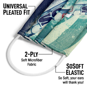 Mentos Fresh Adult Universal Pleated Fit, 2-Ply, SoSoft Elastic Earloops