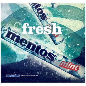 Mentos Fresh Adult Mask Design Full View