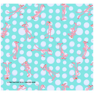 Pink Panther Pink Poses Pattern Adult Mask Design Full View