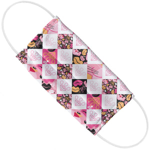 Load image into Gallery viewer, Pink Panther Designer Paw Pattern Adult Flat View