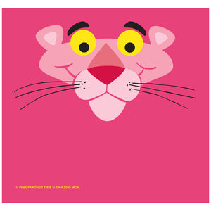 Pink Panther Face Adult Mask Design Full View