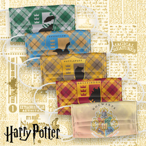 Harry Potter Plaid House Logos