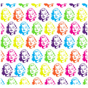 Marilyn Monroe Face Pattern Adult Mask Design Full View