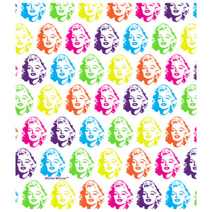 Load image into Gallery viewer, Marilyn Monroe Face Pattern Kids Mask Design Full View