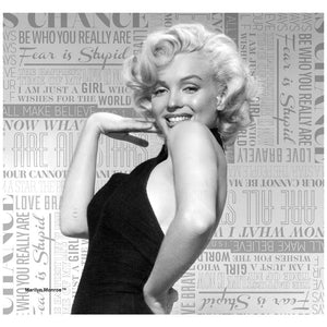 Load image into Gallery viewer, Marilyn Monroe Pin-Up Adult Mask Design Full View