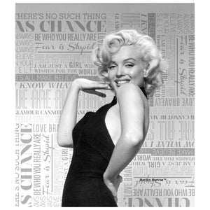 Marilyn Monroe Pin-Up Kids Mask Design Full View