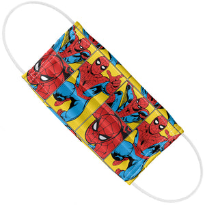 Spider-Man Spidey Tiles Adult Flat View