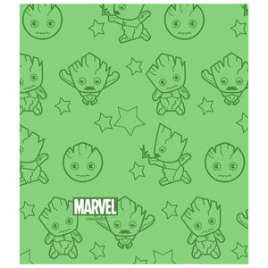 Groot I Am Groot Chibi Kids Mask Design Full View