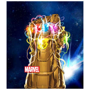 Thanos Infinity Gauntlet Kids Mask Design Full View