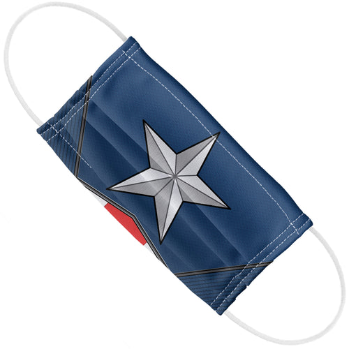 Captain America Logo Adult Flat View