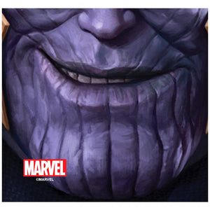 Thanos Face Adult Mask Design Full View