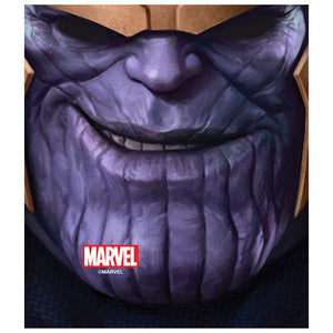 Load image into Gallery viewer, Thanos Face Kids Mask Design Full View