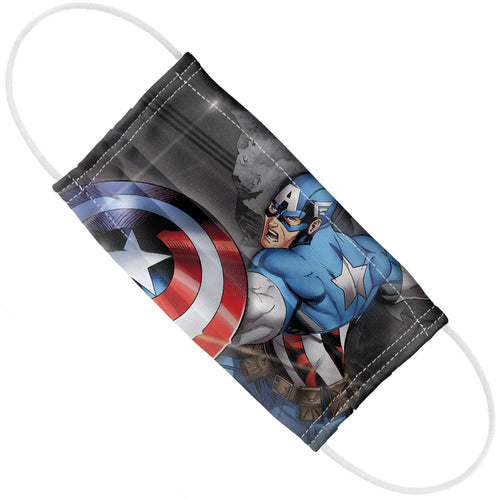 Captain America Bullet Shield Adult Flat View