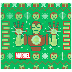 Adult Iron Man Christmas Sweater Adult Mask Design/Full