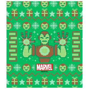 Kids Iron Man Christmas Sweater Kids Mask Design/Full