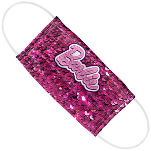 Barbie Sequins Logo Adult Flat View