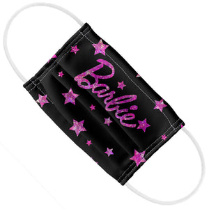 Barbie Glitter Stars Logo Kids Flat View