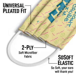 Saved by the Bell It's All Right Kids Universal Pleated Fit, 2-Ply, SoSoft Elastic Earloops