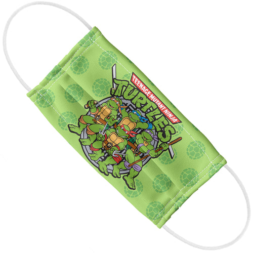Teenage Mutant Ninja Turtles Turtle Power Adult Flat View
