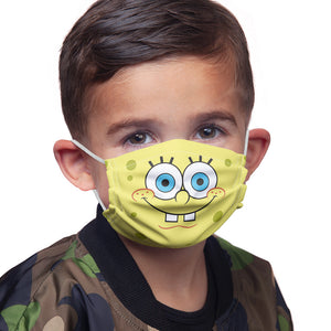 Load image into Gallery viewer, Spongebob Squarepants Face Kids Main Model View