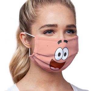 Load image into Gallery viewer, Spongebob Squarepants Patrick Face Adult Main/Model View