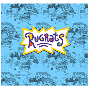 Load image into Gallery viewer, Rugrats Logo Adult Mask Design Full View