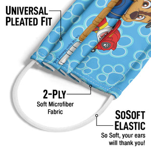 Load image into Gallery viewer, Paw Patrol on Patrol Adult Universal Pleated Fit, 2-Ply, SoSoft Elastic Earloops
