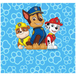 Paw Patrol on Patrol Adult Mask Design Full View