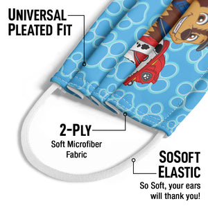 Load image into Gallery viewer, Paw Patrol on Patrol Kids Universal Pleated Fit, 2-Ply, SoSoft Elastic Earloops