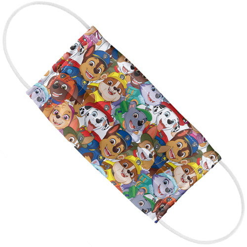 Paw Patrol Pup Pile Pattern Adult Flat View
