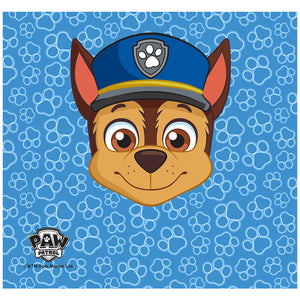 Paw Patrol Chase Adult Mask Design Full View