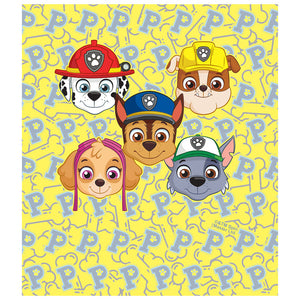 Paw Patrol Eager Pups Kids Mask Design Full View