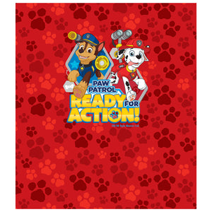 Paw Patrol Ready for Action Kids Mask Design Full View