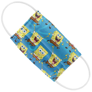 Spongebob Squarepants Pattern Kids Flat View
